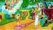 Khi Đức Phật vừa ra đời, Ngài bước đi bảy bước trên bảy đóa sen chỉ là một huyền thoại? Ý nghĩa của sự việc này là gì?
